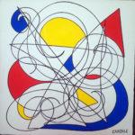 Hommage à Mondrian (en vente)